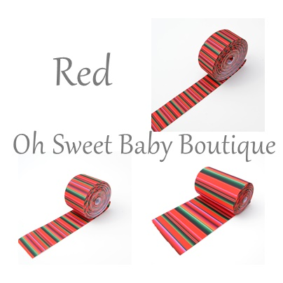 Red Serape Ribbon