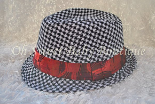 Black Lattice Fedora