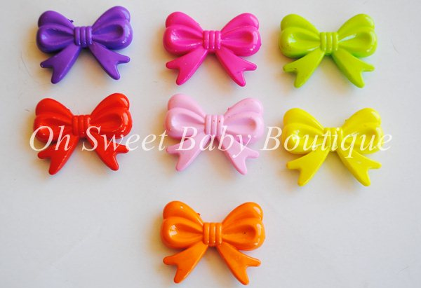 Chunky Bead Large Bows
