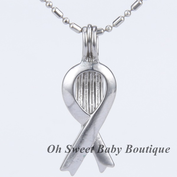 Awareness Ribbon Cage Pendant