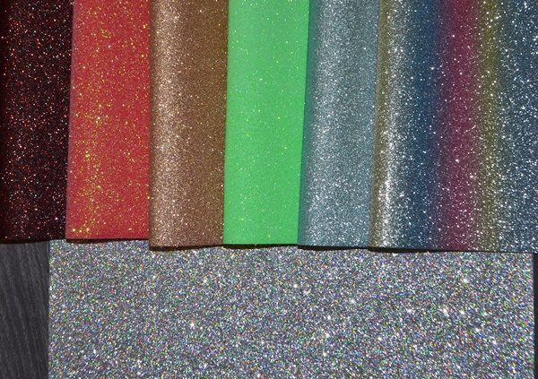 Faux Leather Extra Fine Glitter