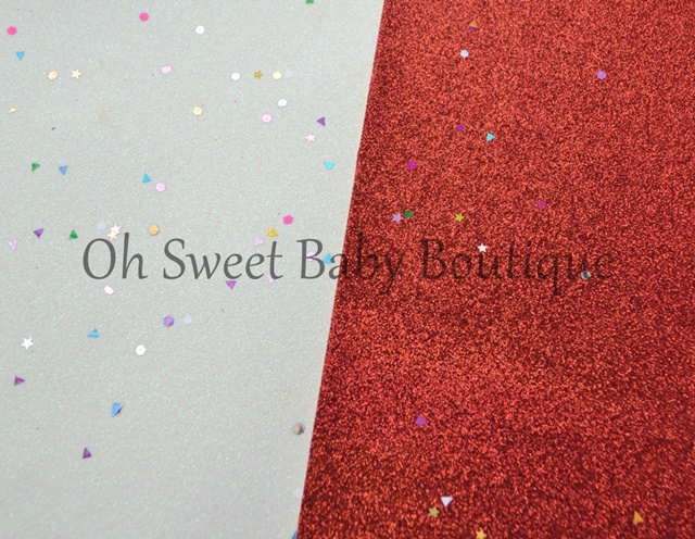Glitter Canvas Sheets