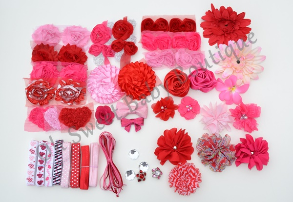 Deluxe Valentines Day Headband Station