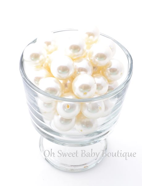 Pearl Bead 20mm Ivory