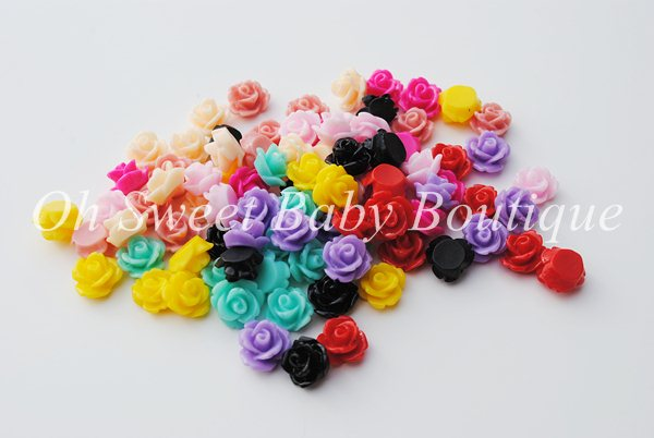 10mm Rose Cabochon