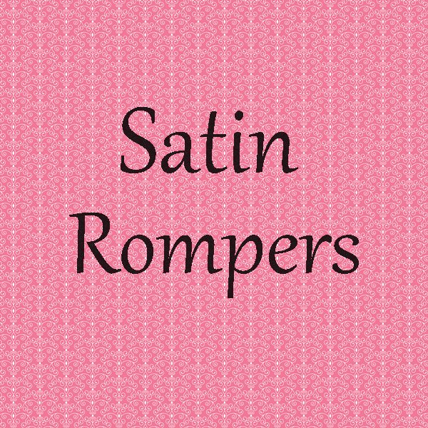 Satin Rompers