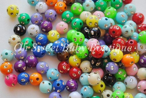 Sparkle Beads 8mm